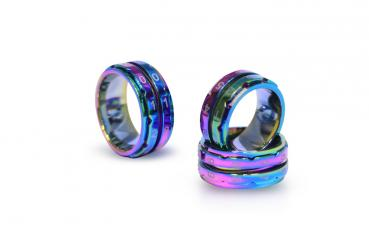 Rainbow Row Counter Ring Size 10 (19,8mm)