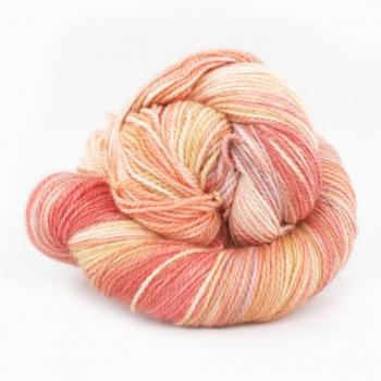 Merino Twist - Ruby Grapefruit / Coral / Caramel / Faded Rose