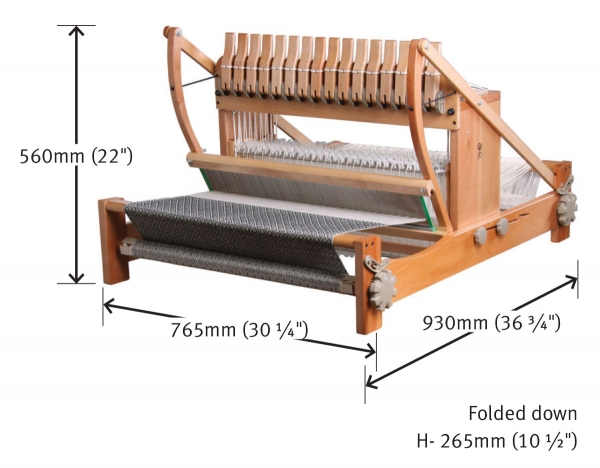 "Ashford 16 Shaft 61cm / 24"" Table Loom"
